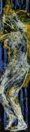 Desnudo Nº 5 / Técnica Mixta sobre tela / 50 x 200 cm / 2021