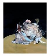 El animal que somos Óleo y carbonilla sobre lienzo / 180 x 215