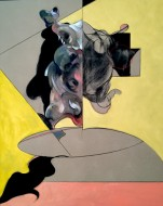 Esencia del hombre Óleo y carbónilla sobre lino / 120 x 150