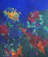 Formas Inconclusas Óleo sobre lienzo /  130 x 110 cm / 2019
