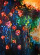 Luz Naranja II Óleo sobre tela / 130 x 110 cm / 2013