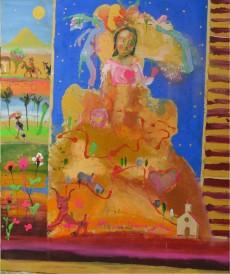 Mis Potosí - Temple sobre tela - 170 x 200 cm 2018