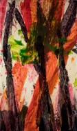 S/ Título Nº 3910 Técnica Mixta / 225 x 132 cm / 2017