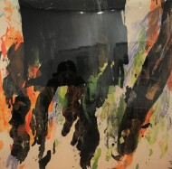 Nº 4479  / Técnica Mixta sobre tela / 65 x 65 cm / 2020