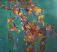 Transiciones Óleo sobre lienzo /  170 x 180 cm / 2019