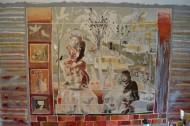 Ventana de Congreso II / Temple sobre tela / 330 x 210 cm  / 2018