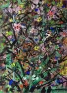 Aroma (serie)  Acuarela, Témpera y Pastel sobre Papel / 35 X 25 cm / 2015