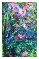 Luz azul (detalle)  120 X 80 cm / 2017