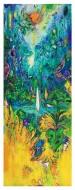 Naturaleza Arcana (serie)  Acrílico, Gouache y Pastel sobre Papel / 167 x 65 cm / 2016