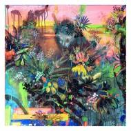 Selva  Acuarela, Gouache y Pastel sobre Papel /  100 X 100 cm / 2015