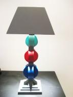 Lámpara0,66 x 0,18 x 0,18 cm. / Madera pintada con laca italiana