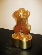 Torso bronce0.31 x 0.17 x0.12 cm / Bronce