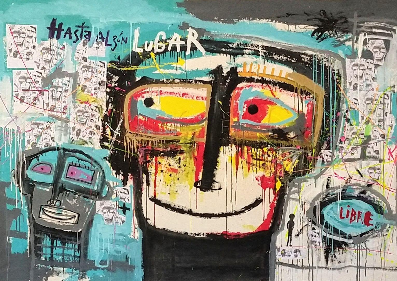 Hasta Algún Lugar / acrílico sobre tela / 190 x 290 cm / 2021