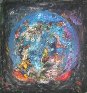 El juez/Mixta s tela / 150 x 142 cm / 2007