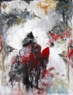 Hombre polilla 190 x 160 cm / Técnica Mixta s/tela / 2011