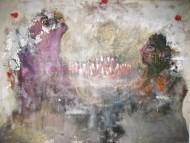 Cumpleaños  /Mixta s/ tela 150 x 200 cm /2012