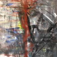 2019-03 Sin titulo / oleo sobre tela / 180 x 180 cm /