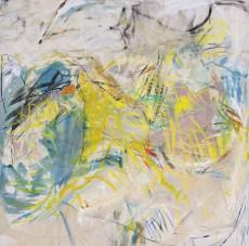 2005-57 Camino / Acrílico y oleo sobre tela / 185 x 190 cm /