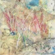 2007-45 Ramas muertas / Acrílico y oleo sobre tela / 200 x 200 cm /