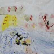 2008-55 Sin titulo / acrílico sobre tela / 170 x 170 cm /