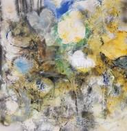 2008-72 Cabos de Luz / Técnica mixta sobre tela / 190 x 185 cm /