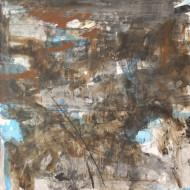 2012-48 Vislumbre / acrílico sobre tela / 180 x 180 cm /