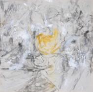2015-25 Nacimiento / acrílico sobre tela / 180 x 180 cm /