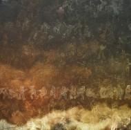 Sin Titulo / Acrílico sobre tela / 100 x 100 cm / 2016