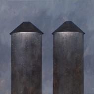 Serie Los Abrazos / Acrílico sobre tela / 100 x 100 cm / 2016