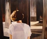 La Carta / Oleo sobre tela / 130 x 130 cm / 2012