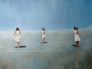 Bailarinas / Oleo sobre tela / 90 x 100 cm / 2020