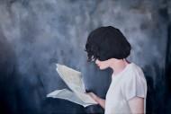 La Lectora / Oleo sobre tela / 100 x 150 cm / 2019