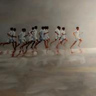 Corre Corre / Oleo sobre tela / 120 x 160 cm / 2017