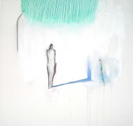 Sín Titulo mixta sobre tela / 150 x 150 cm /
