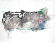 Nº 1391 acrílico sobre papel / 60 x 80 cm /