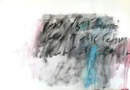 Nº 1392 acrílico sobre papel / 60 x 80 cm /
