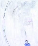 Sin Título técnica mixta sobre tela / 170 x 150 cm /