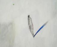 Sin Título técnica mixta sobre tela / 150 x 150 cm /