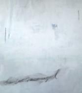 Sín Título técnica mixta sobre tela / 180 x 150 cm /
