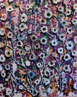 En Sabanas Chinas / Oleo sobre tela / 150 x120 cm / 2021