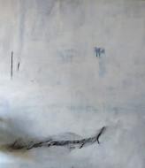 La Vaca Azul técnica mixta sobre tela / 170 x 120 cm /