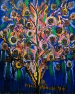 Sacrificio / Oleo sobre tela / 210 x150 cm / 2021