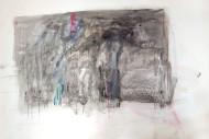 Sin Título técnica mixta sobre papel / 84 x 110 cm /