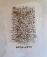 Sin Titulo  Pigmentos y Alpaca sobre lienzo / 70 x 80 cm / 2020