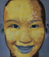 Foo tecnica mixta sobre tela / 180 x 158 cm  / 2007