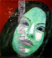 Dear Mark Técnica mixta sobre teña /  195 x 175 cm  / 2008